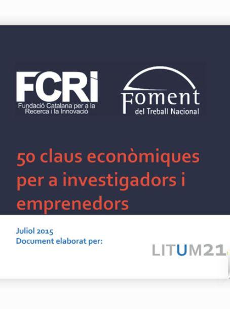 Glossari Ciència-Empresa - 50 claus econòmiques per a investigadors i emprenedors