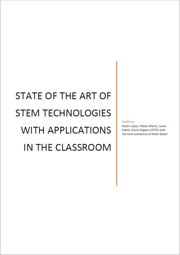 State of the art of STEM technologies with applications in the classroom